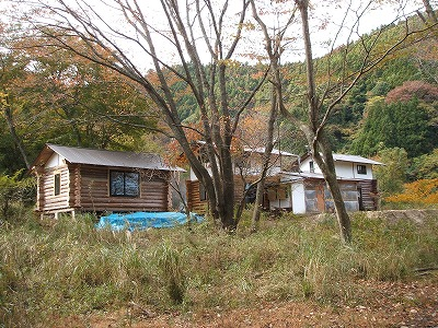 秋のかずさの森 体験宿泊棟